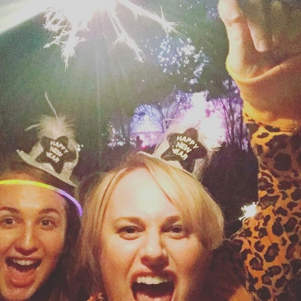 Rebel Wilson kicked off 2016 in her native Australia.