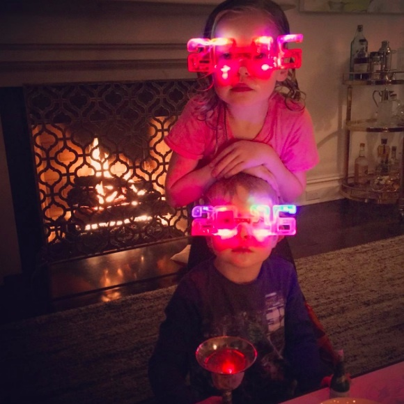 Neil Patrick Harris and his twins, Harper and Gideon, are ready for 2016. 