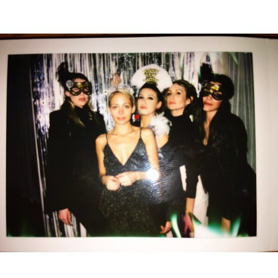 Nicole Richie and friends. 