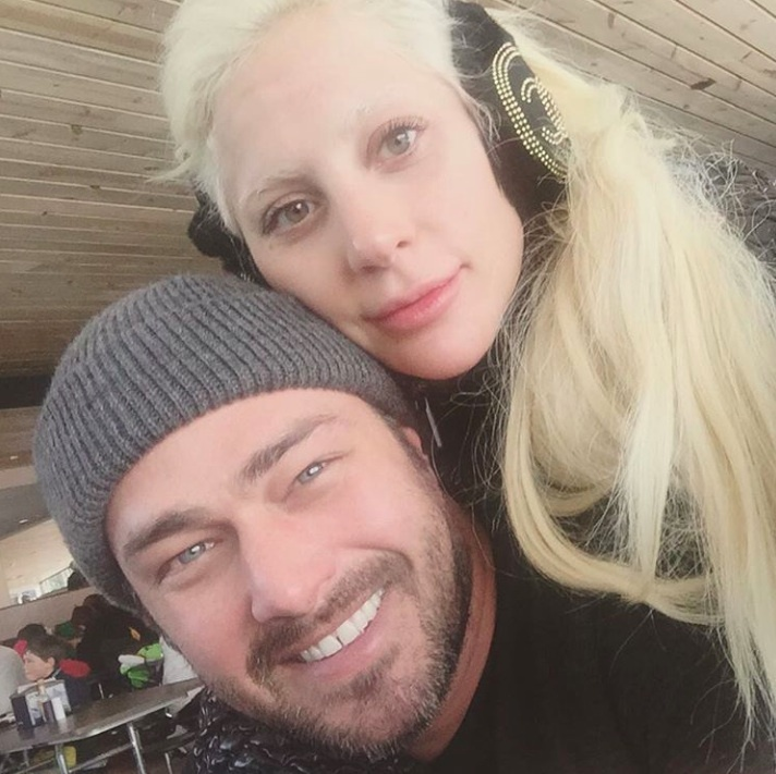 """thank you to our fans and loved ones who bless us with so much each year. We had a beautiful holiday and are so grateful because it wouldn't have been the same without you in our lives! Happy New Year's Eve"" - Lady Gaga and Taylor Kinney