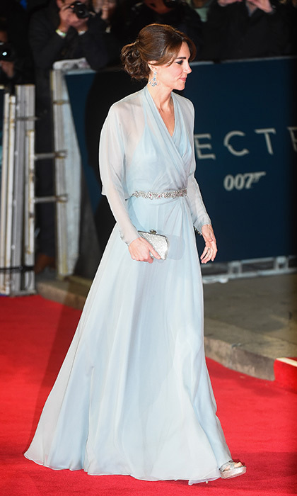 <strong>Gracing the red carpet at a big première</strong>