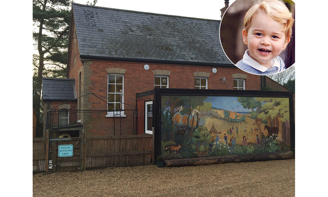 <strong>Prince George starts preschool</strong>