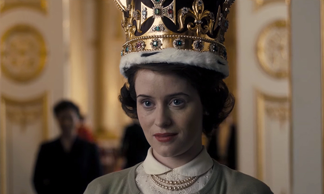 First look at the Netflix series 'The Crown' inspired by ...