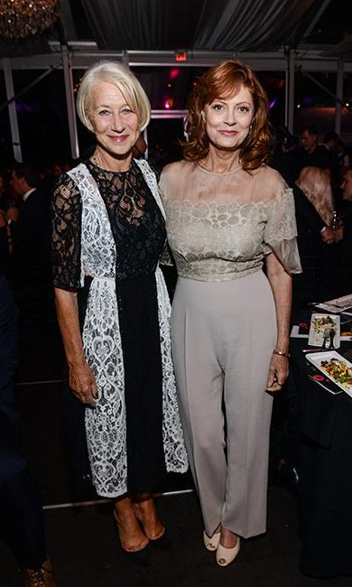 Dame Helen Mirren and Susan Sarandon