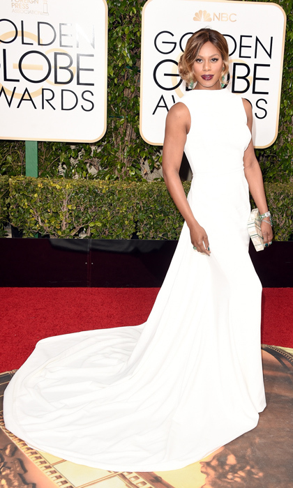 Laverne Cox in Elizabeth Kennedy. 