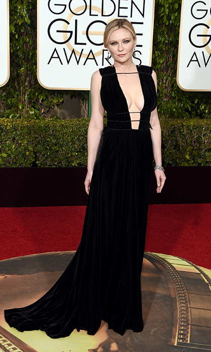 Kirsten Dunst in Valentino. 