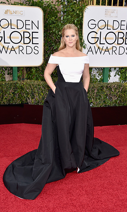 Amy Schumer in Prabal Gurung. 