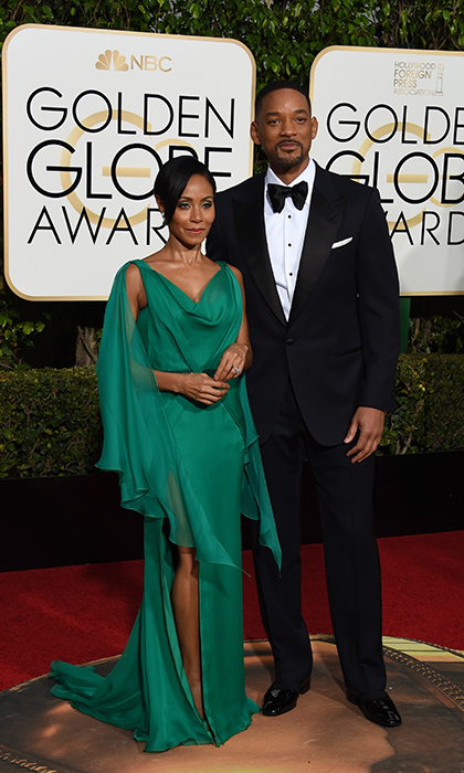 Golden Globe vets Jada Pinkett Smith and Will Smith have had a busy few weeks. In addition to celebrating the <em>Concussion</i> star's nomination, the loving couple marked their 18th wedding anniversary on New Year's Eve.<br>
