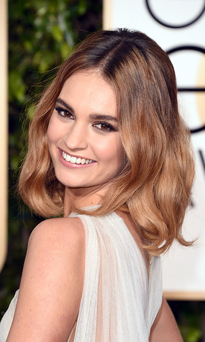 Lily James<br>