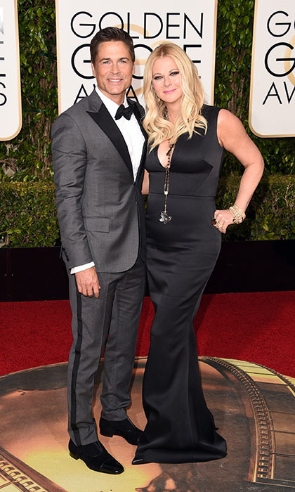 Rob Lowe and Sheryl Berkoff<br>