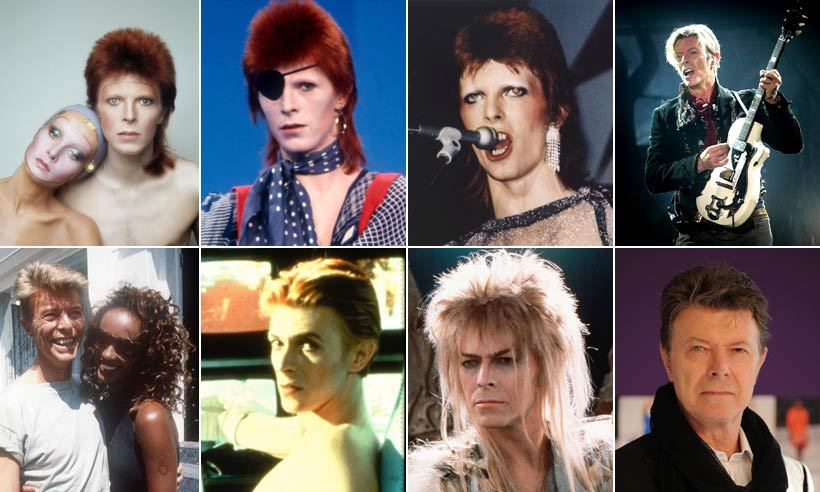 "Following a storied career that pushed the boundaries of music, art and fashion, creative legend <a href=""http://ca.hellomagazine.com/tags/0/david-bowie/"">David Bowie</a> lost his private 18-month battle with cancer on Jan. 10 2016. The 69-year-old father of two and longtime husband to supermodel Iman, who had just released his 25th album, leaves a cornucopia of iconic videos, songs, characters and ensembles, and here we look back on some of the most powerful images. <b>Click through to see his inimitable life in photos.</b>"