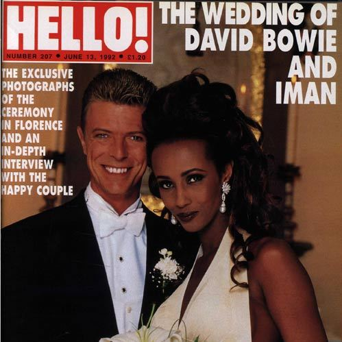 In 1992, <em>HELLO!</em> exclusively covered David and Iman's romantic Florence nuptials.