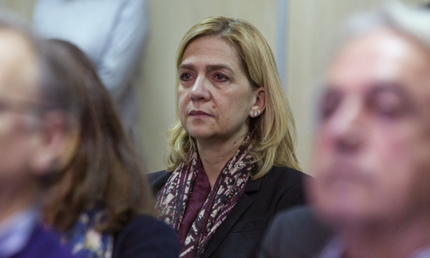 Infanta Cristina of Spain in court to stand trial on