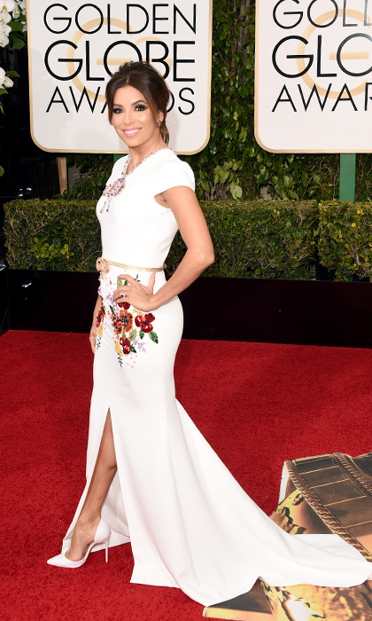Eva Longoria in Georges Hobeika.