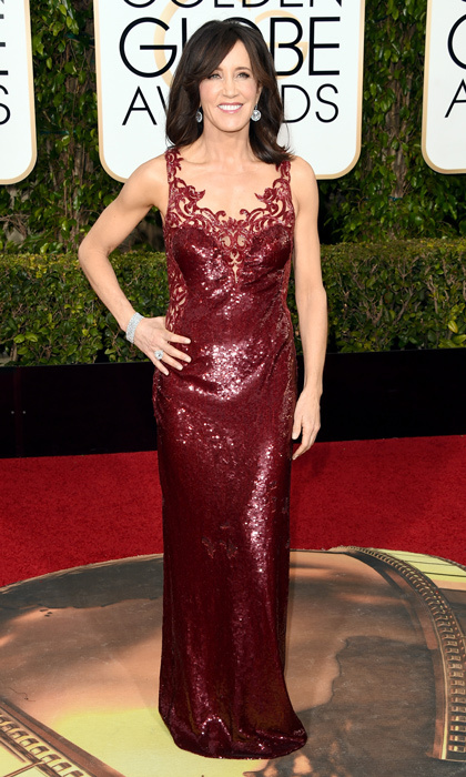 Felicity Huffman in Lorena Sarbu.
