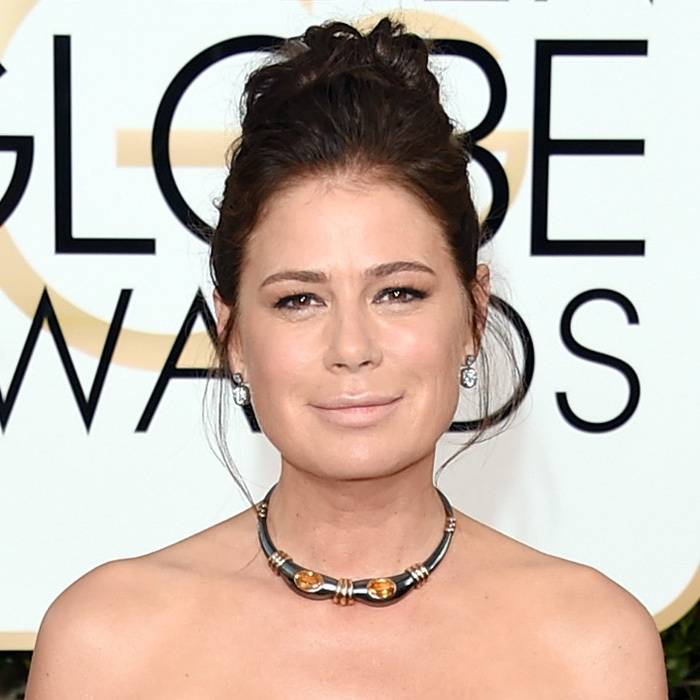 Maura Tierney in Fred Leighton.