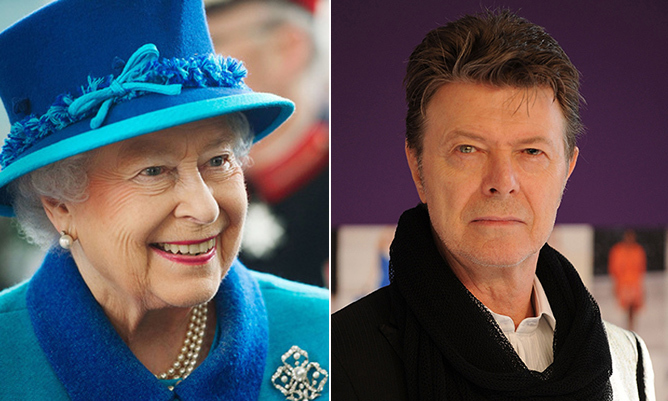 "<b>2</b> honours turned down: The Queen named David Bowie to her exclusive club of Commanders of the Order of the British Empire (CBE) in 2000, but the singer declined the recognition. ""I seriously don't know what it's for,"" he was reported as saying when asked to explain why he turned down the honour. It comes as no surprise that when the Queen came calling again in 2003, this time with a Knighthood, David kindly said no thank you.