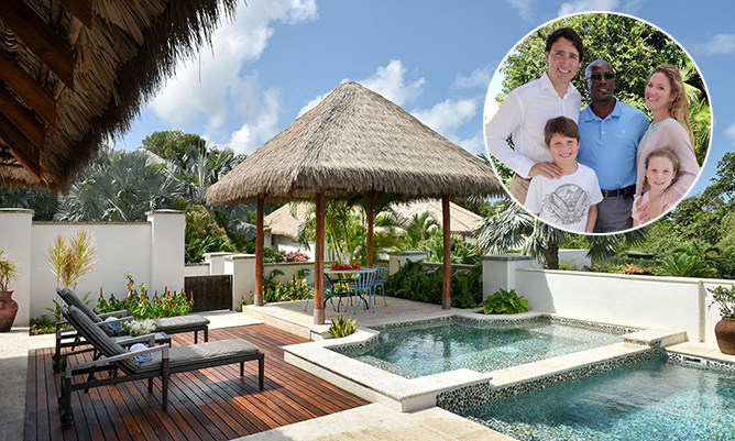 The Luxurious Caribbean Resort Where Justin Trudeau And His Family Vacationed