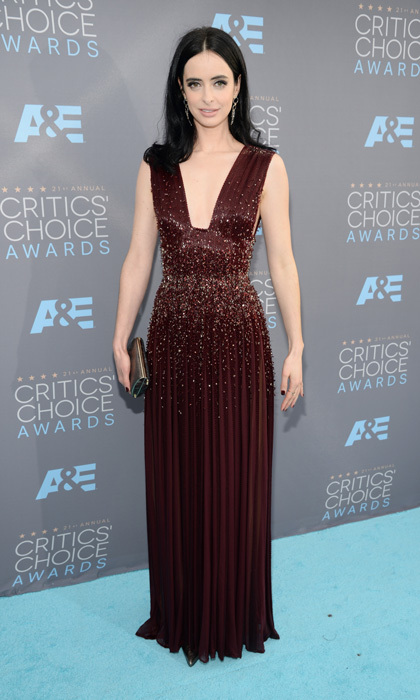 Krysten Ritter in Zuhair Murad Couture