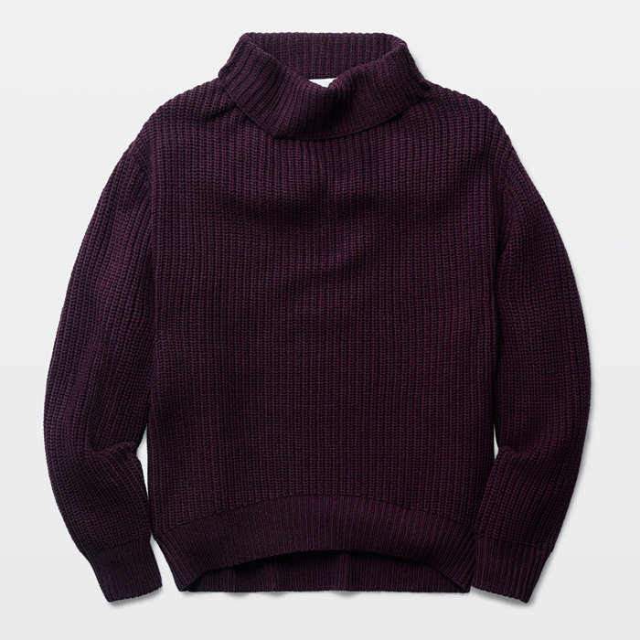 <strong>Wilfred Montpellier sweater in purple</strong>, $150,