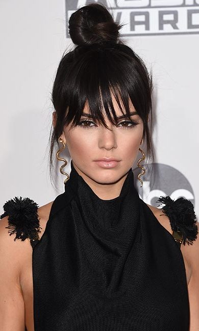 <strong>Style: top knot