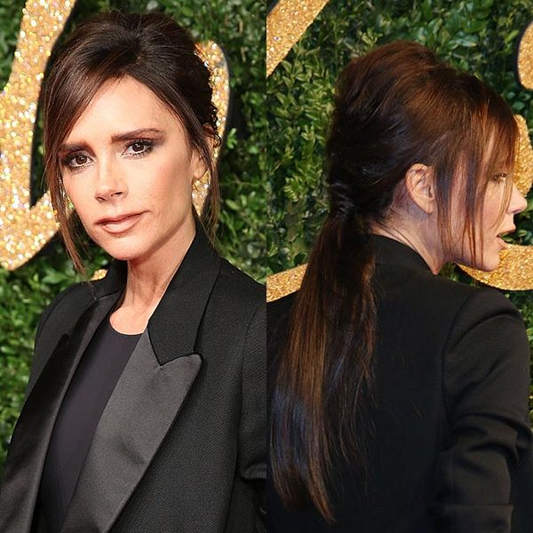 <strong>Style: volume-packed ponytail