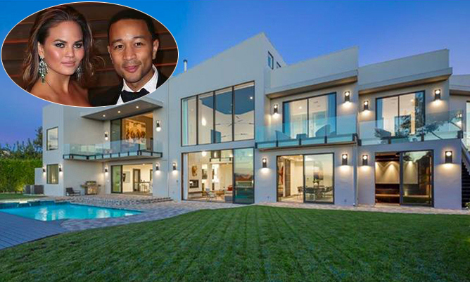 Inside chrissy teigen and john legend 39 s new 14 million for La celebrity home tours