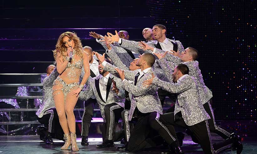 "Jennifer Lopez kicked off the ultimate ""Jenny from the block party"" at the Planet Hollywood Resort & Casino in Las Vegas on Jan. 20. The singer's ""All I Have"" show debuted to exceptional reviews.  