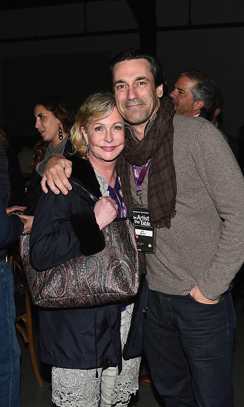 January 21: Festival juror Jon Hamm and Lyn Lear attended the An Artist at the Table: cocktails and dinner program benefit.