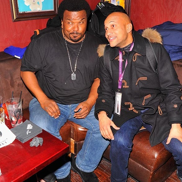 January 22: Lots of laughs! Craig Robinson and Keegan-Michael Key attended the official <em>Morris from America</em> after-party at Bar 53 At Rock & Reilly's and 50 Bleu Lounge during the Sundance Film Festival.