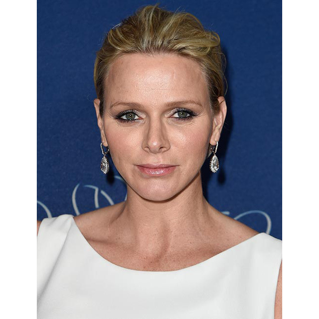 The blond beauty embraced the slicked-back hair trend for the Princess Grace Awards gala in 2014, pairing it with soft shimmering pastel eyeshadows and nude lip gloss for a laid-back yet glamorous look.
