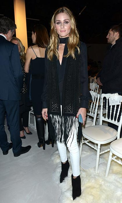 Olivia Palermo at Giambattista Valli.