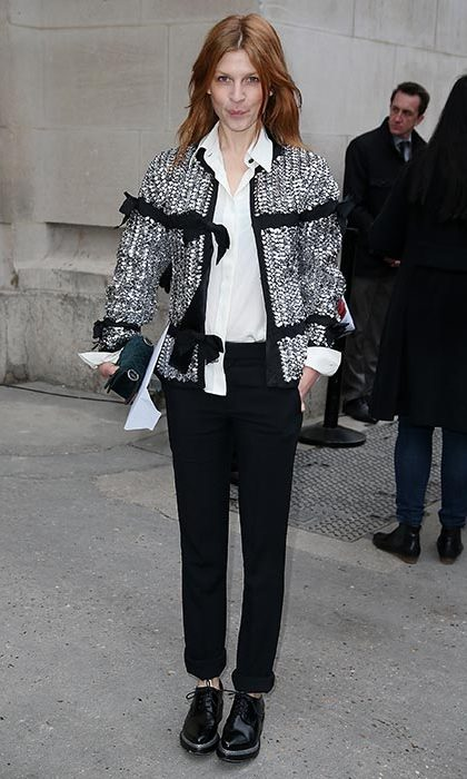 Clemence Poesy at Chanel.