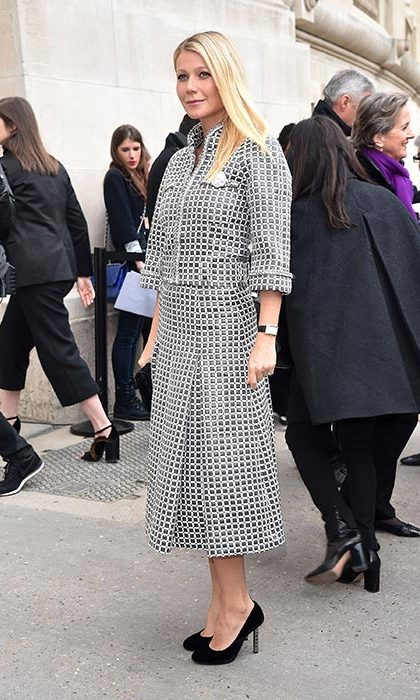 Gwyneth Paltrow at Chanel.