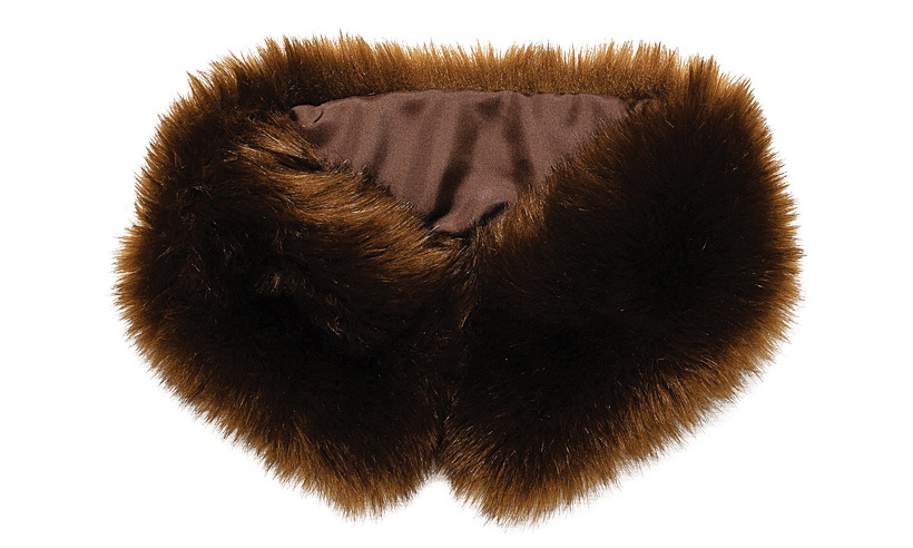 <strong>Faux-fur snood</strong>,$20,