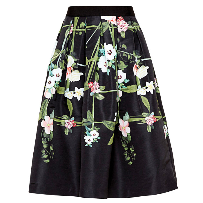 <strong>Emmalin Secret Trellis full skirt</strong>, $315,