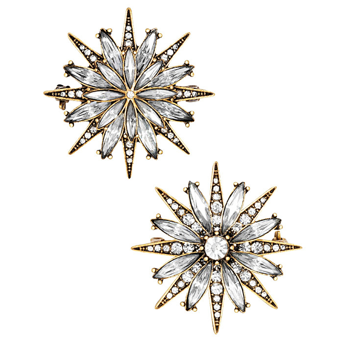 <strong>North Star brooch set</strong>, $60,