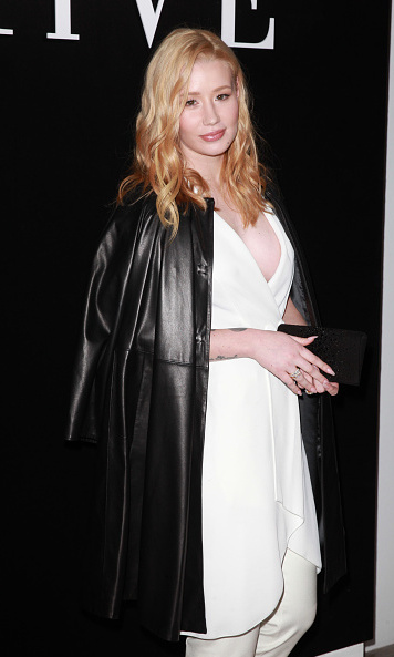 Iggy Azalea at Giorgio Armani Prive.
