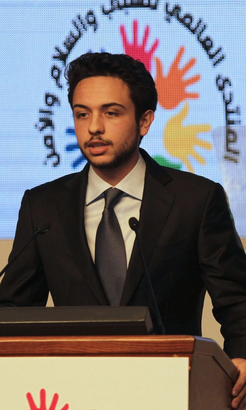 <h2>CROWN PRINCE HUSSEIN OF JORDAN</h2>