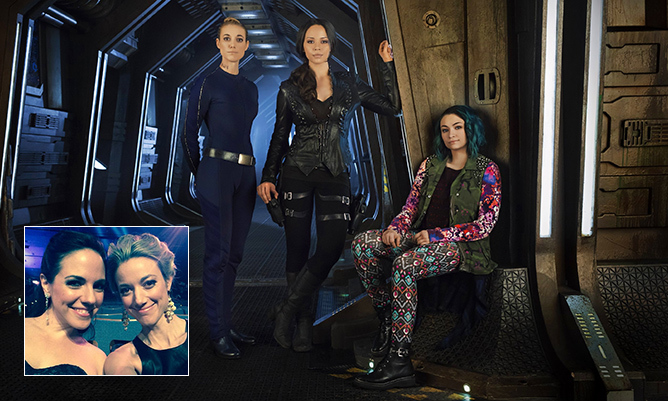 "<i>Lost Girl</i> fans are dying to see Anna reunite with co-star Zoie Palmer on <i>Dark Matter</i>, and we're happy to report that Anna is totally up for it. The actress recently told <i>Hello! Canada</i>, ""It would be very cool to share the screen with Zoie again because I certainly miss working with her!""