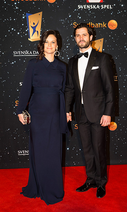 Princess Sofia with Prince Carl Philip