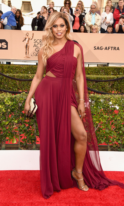 Laverne Cox in Prabal Gurung