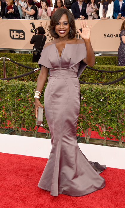 Viola Davis in Zac Posen