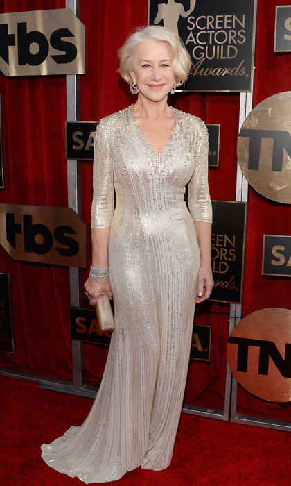 Helen Mirren in Jenny Packham