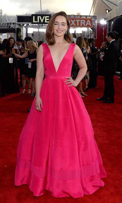 Emilia Clarke in Dior