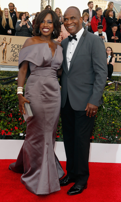 Viola Davis and Julius Tennon.