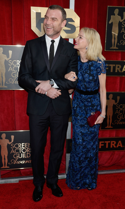 Naomi Watts and Liev Schreiber.