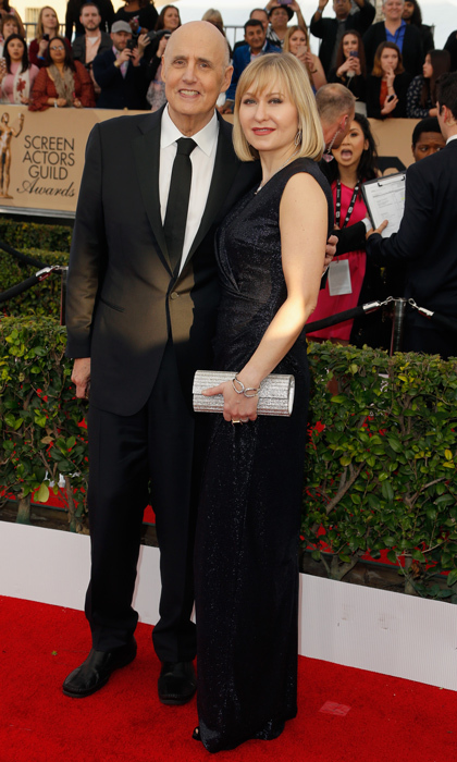 Jeffrey Tambor and Kasia Ostlun.