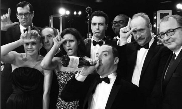 The cast of <i>Veep</i> took their loss like champs. 