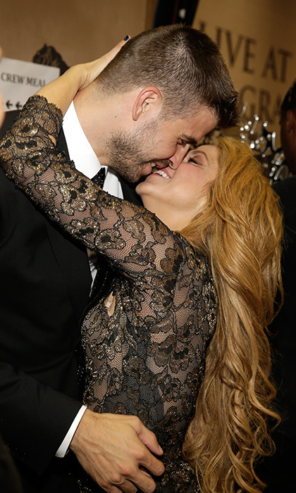 "The temperature backstage at the 2014 Billboard Music Awards went up tenfold after Shakira raced to get a congratulatory kiss from her beau after delivering a stellar performance of her single ""Empire.""